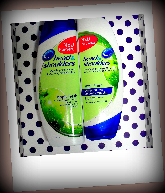 head shoulders apple fresh shampoo und sp lung dm lieblinge 9 lila lummerland. Black Bedroom Furniture Sets. Home Design Ideas