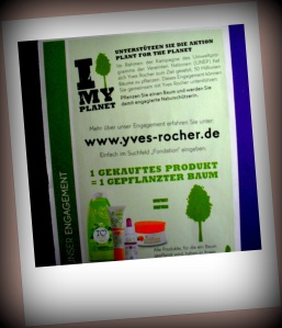 Yves Rocher unterstützt Plant-for-the-Planet