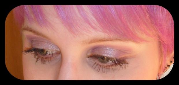 Schminkaktion bei dm, Lidschatten für Kurzsichtige: p2 cosmic dream eye shadow: purple planet
