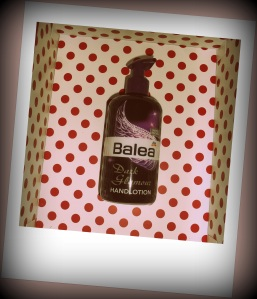 balea dark glamour handlotion limited edition