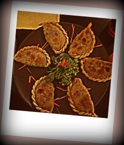 Teigtaschen mit Spinat und Schafskäse