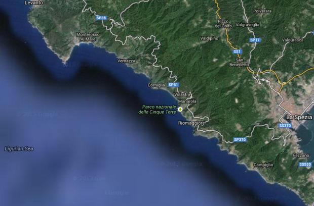 Karte von Google Maps