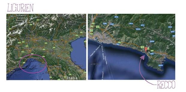 Zur Orientierung. Karten von Google maps.