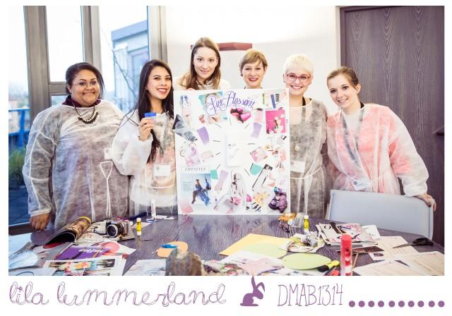 v.l.n.r.: Palmira, Jill, Susann, Julia (vom Balea Team), ich, Lila. Foto: Jonannes Dreuw