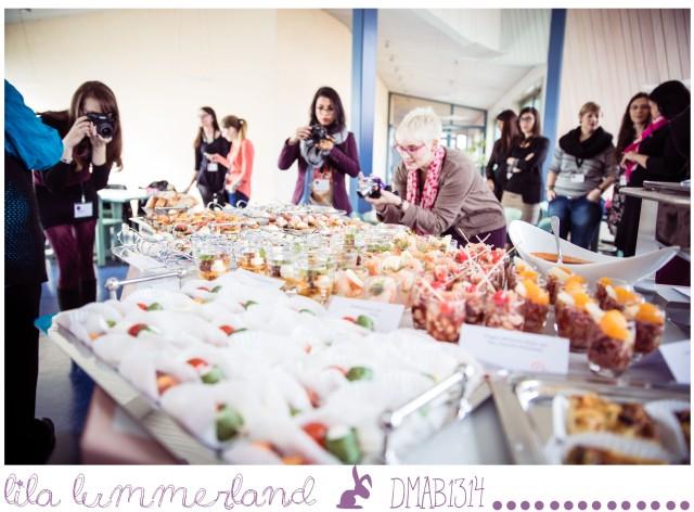 Natürlich mussten wir das Essen auch erst mal fotografieren ;) Foto: Johannes Dreuw