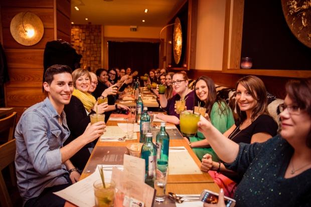 Hoch die Gläser - auf einen erfolgreichen Workshop! Foto: Johannes Dreuw