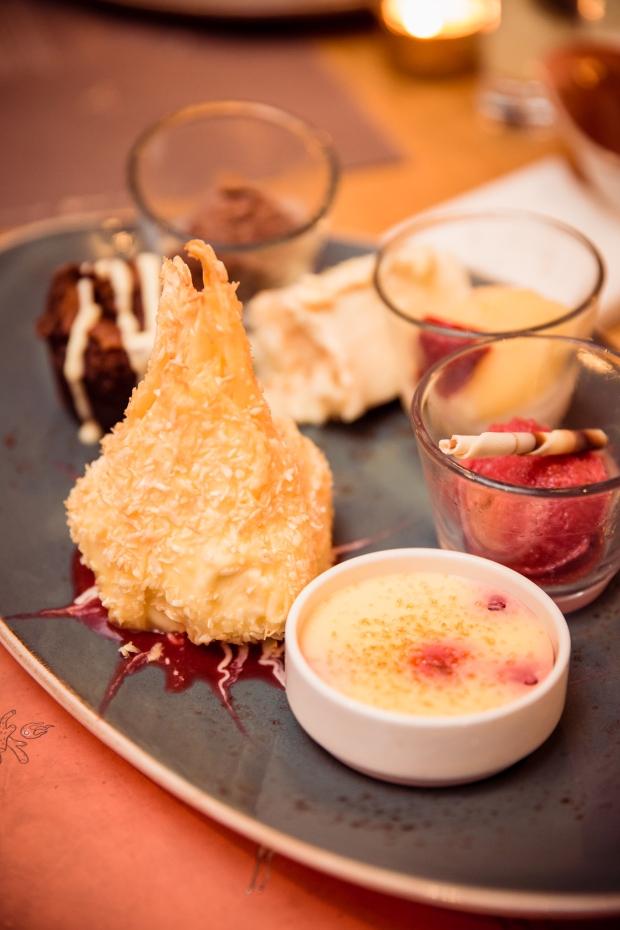 Himmlische Dessertvariation Foto: Johannes Dreuw