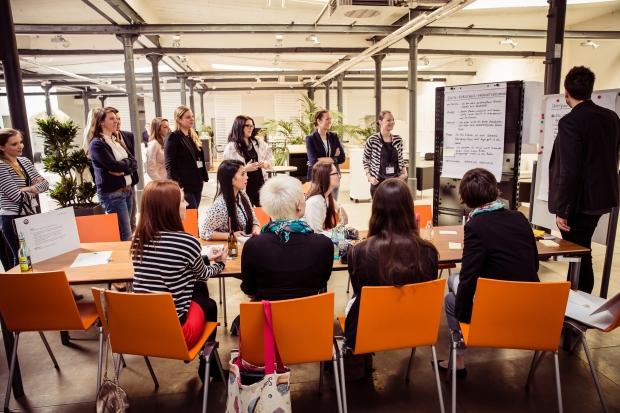 Präsentation der Ergebnisse Foto: Johannes Dreuw