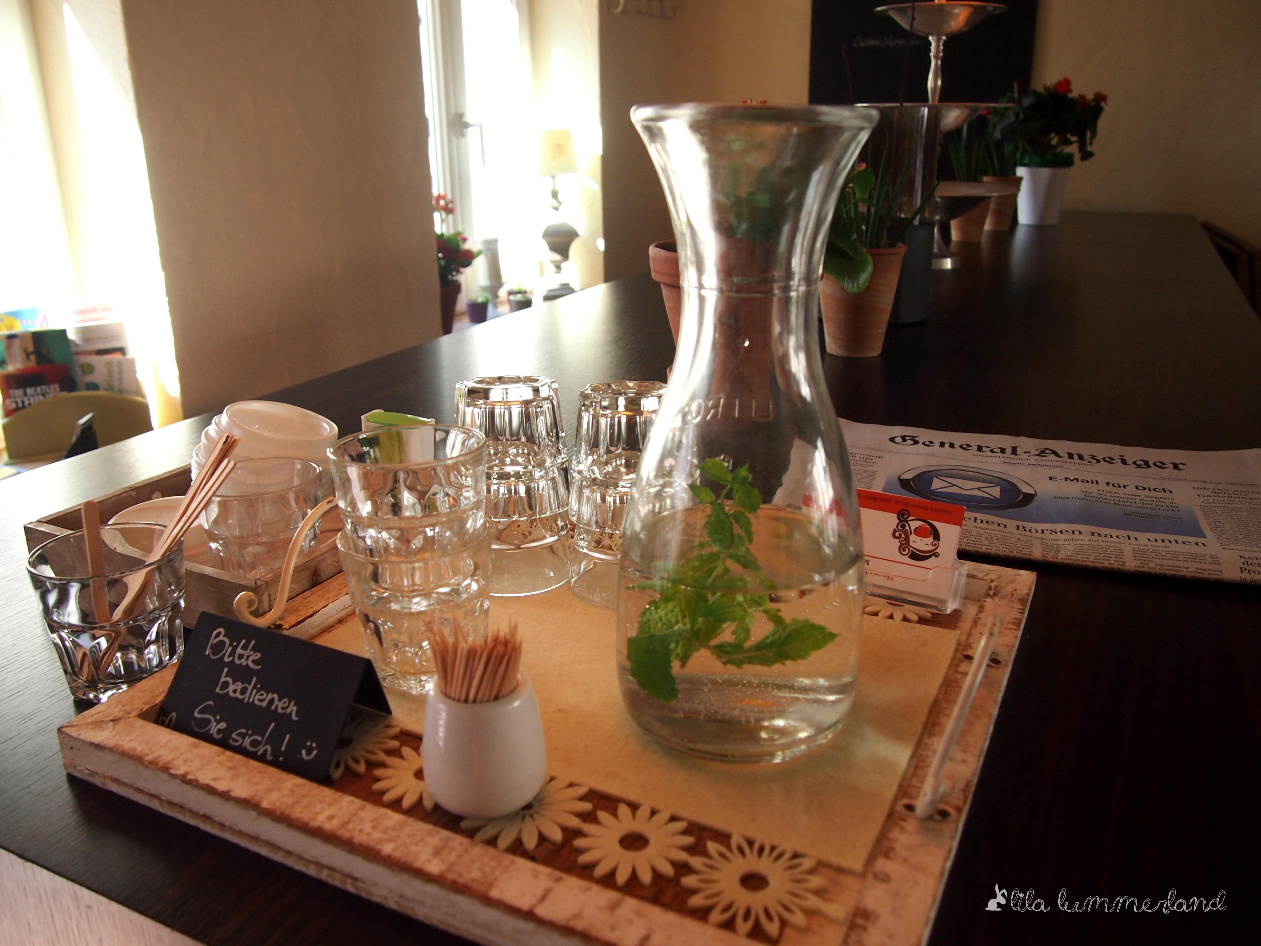 Mayras Wasser Minzen Bedienen Wohnzimmer