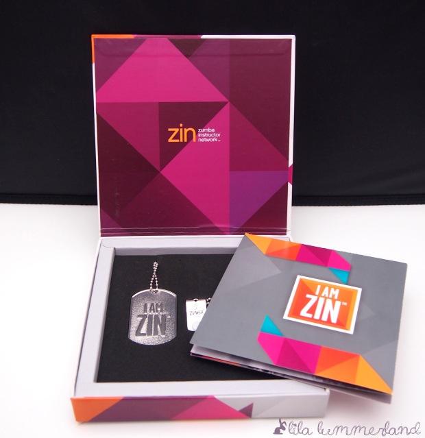 Die Geschenkbox für alle, die sich noch vor Ort für ZIN(R) registriert haben.