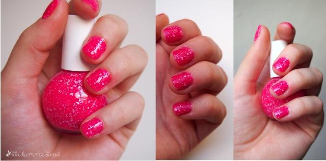 Je nach Lichteinfall wirkt das Pink noch mal deutlich dunkler und kräftiger - fast noch schöner als auf den Bildern!