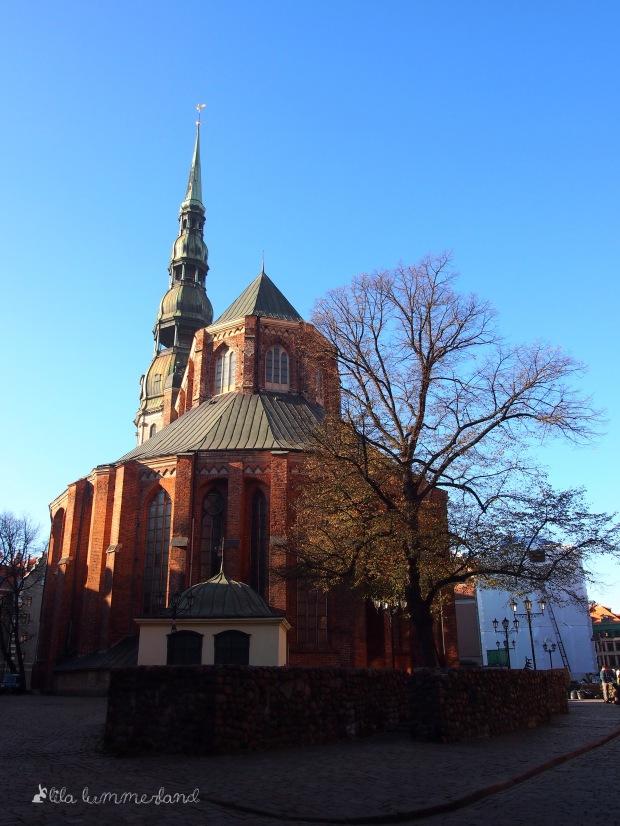 Die Petrikirche in Riga