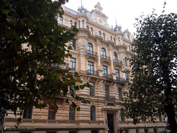 Jugendstil-Gebäude in Riga