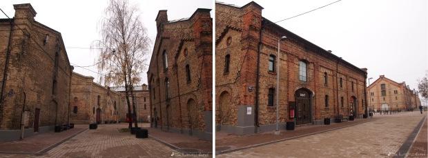 Die Speicherstadt in Riga