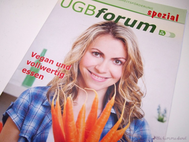 """UGBforum spezial """"Vegan und vollwertig essen"""""""