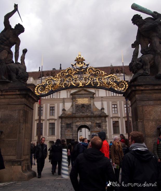 Der Eingang zum Burgenviertel