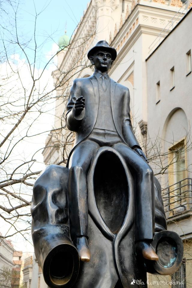 Franz-Kafka-Denkmal