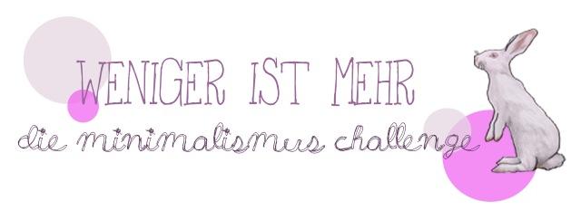 minimalismus-challenge