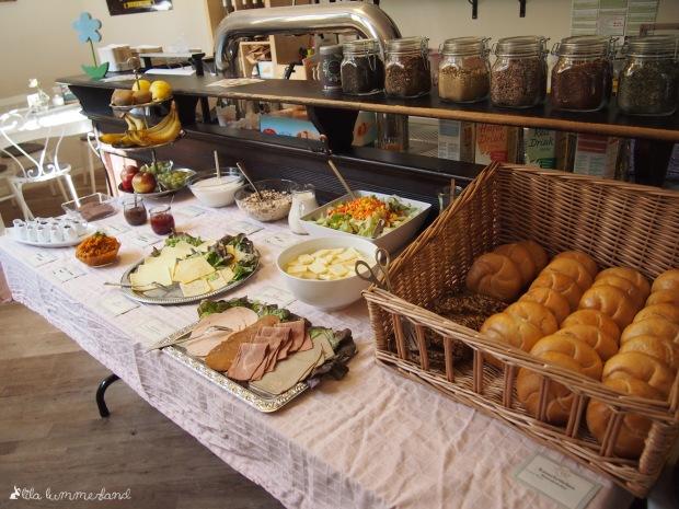 Mae's Café Bonn Frühstücksbuffet