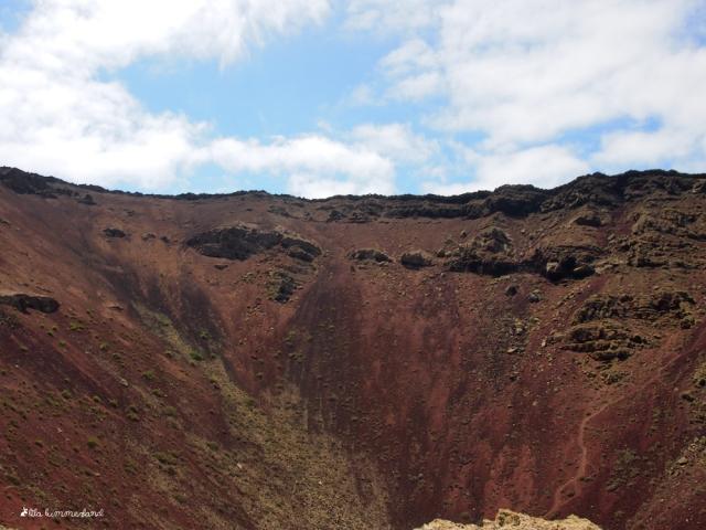 lanzarote monte corona krater