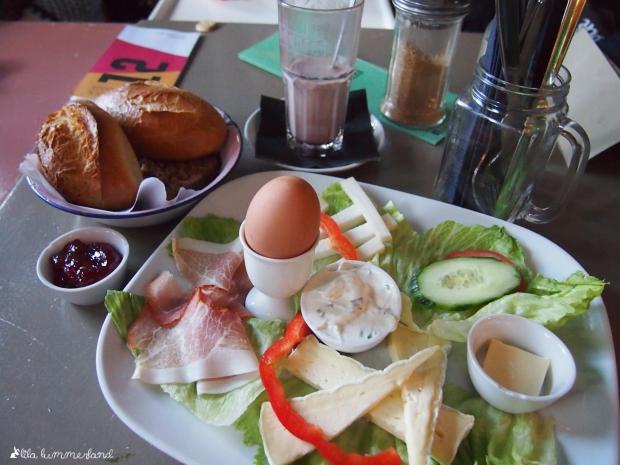 Herr Pimock Frühstück für den großen Hunger 2