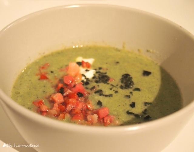 rezept zucchini suppe mit speck lowcarb lila lummerland. Black Bedroom Furniture Sets. Home Design Ideas