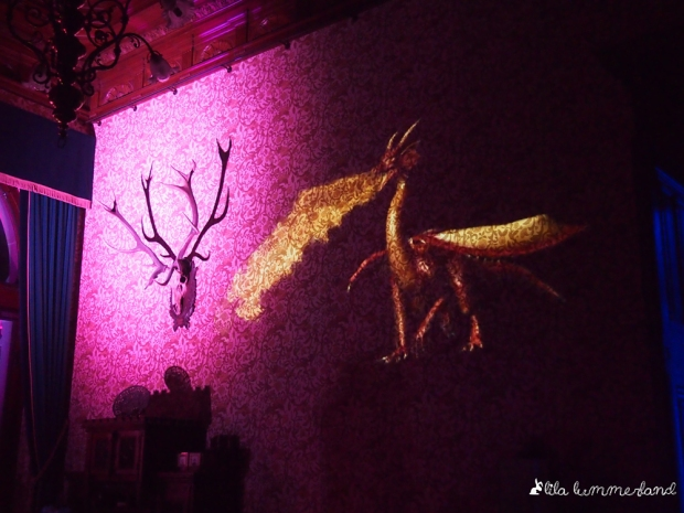 schlossleuchten drachenburg drache zauberwesen