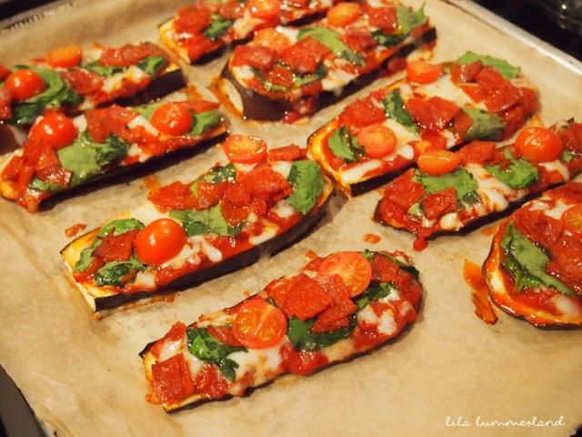 LC auberginen pizza