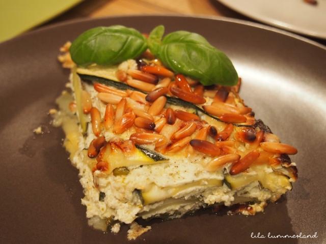 LC zucchini quark lasagne